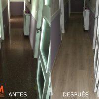 Instalación de tarima Pergo en Albacete