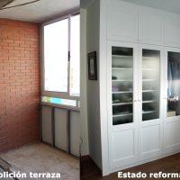 Ampliación de dormitorio y nuevo armario.