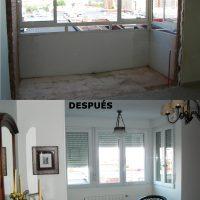 Ampliación y reforma de dormitorio