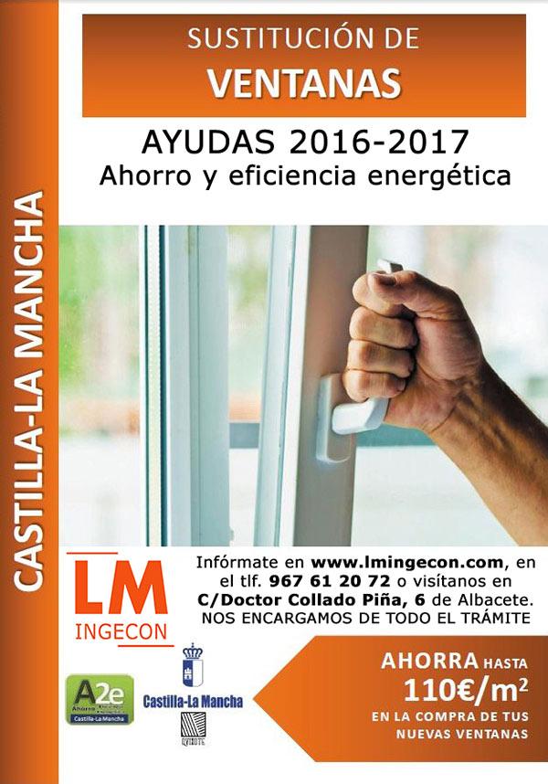 Plan renove de ventanas | Ayudas para cambiar ventanas en Castilla la Mancha