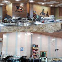 decoración de cafeteria en Albacete
