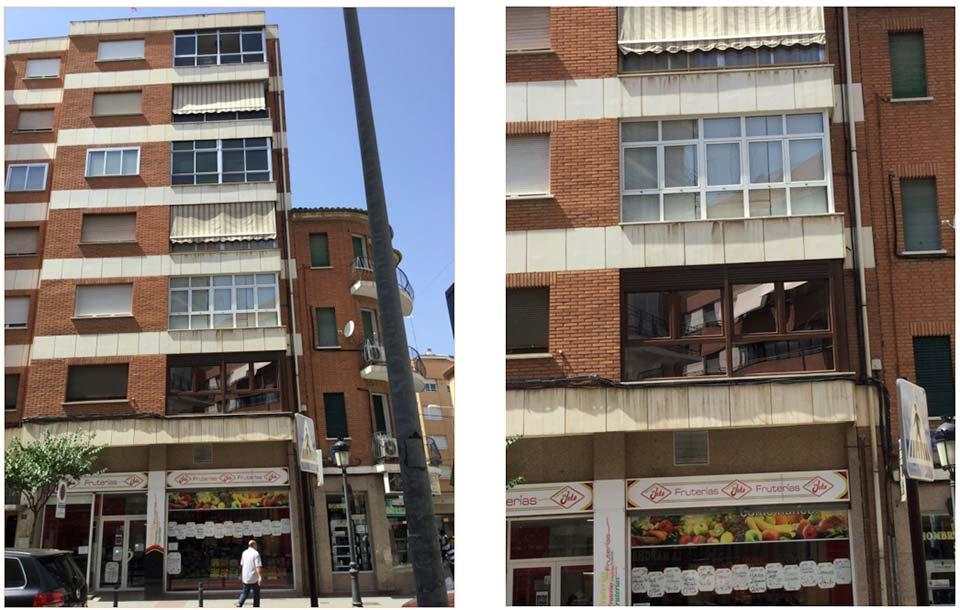 cerramiento para balcón o terraza en Albacete