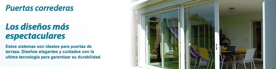 Puertas de PVC y cerramientos de terrazas y balcones