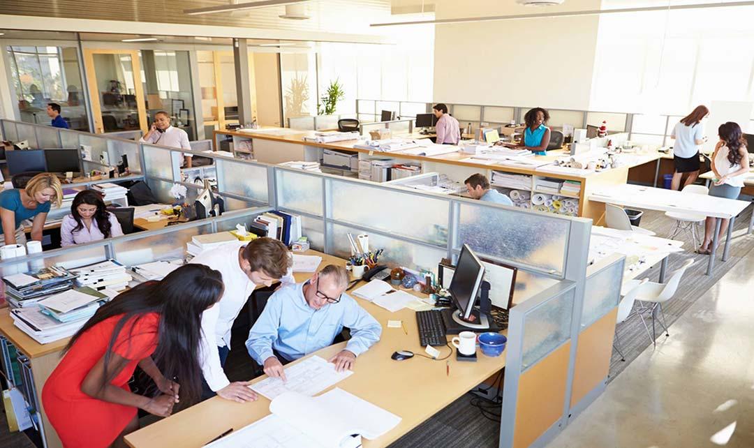 Reformas de oficinas open space un nuevo concepto demandado for Concepto de oficina
