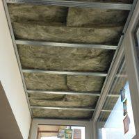 Aislamiento del techo del cerramiento