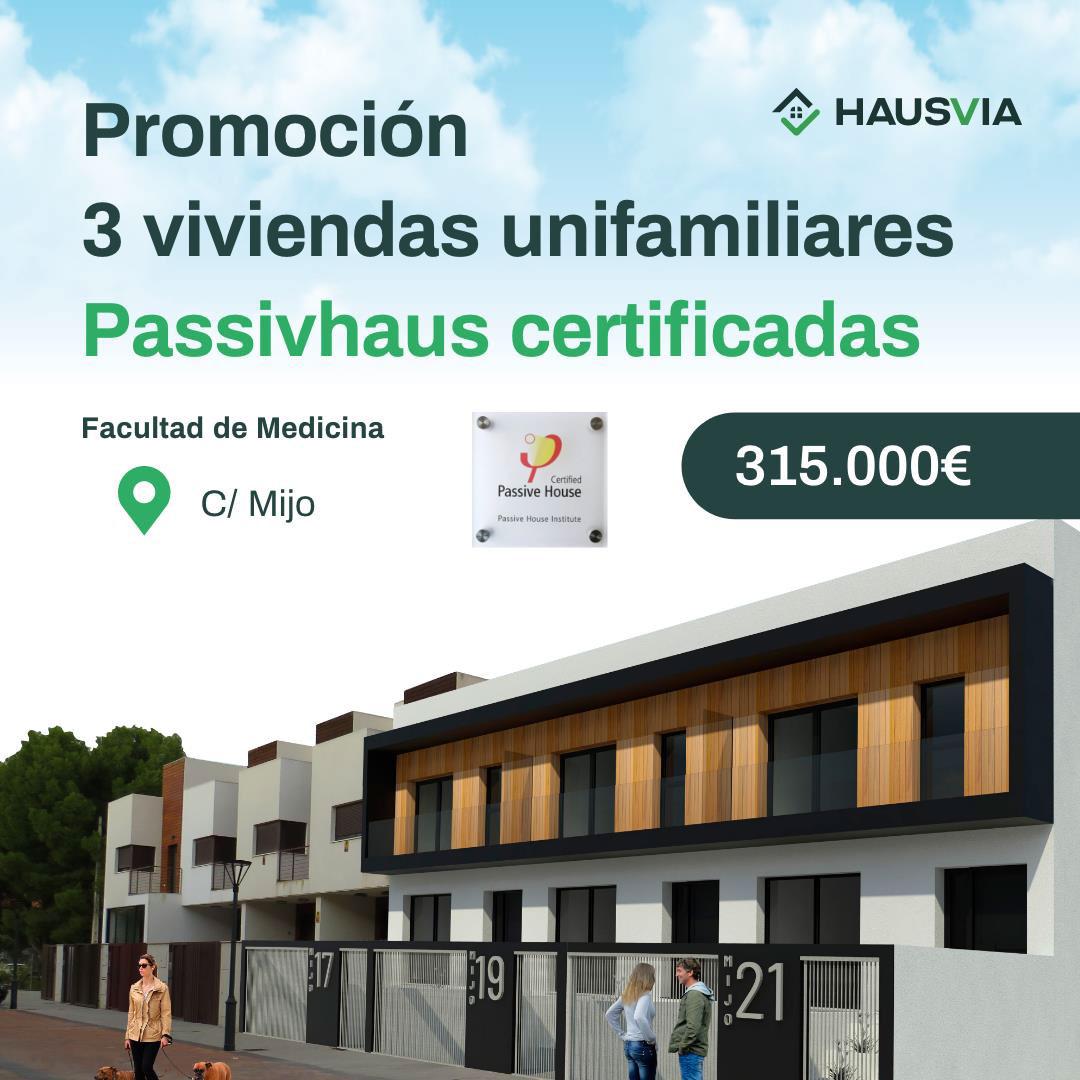 nueva promoción de viviendas passivhaus certificadas en Albacete