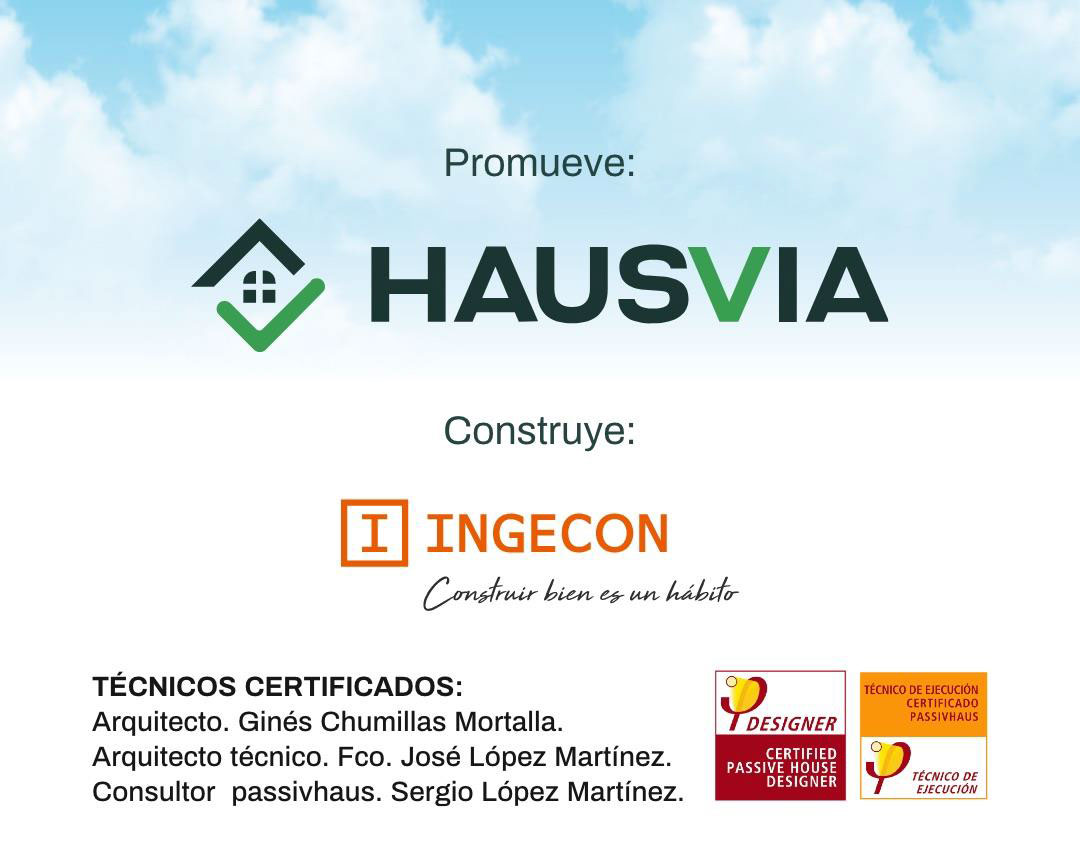 promoción viviendas passivhaus certificadas en Albacete