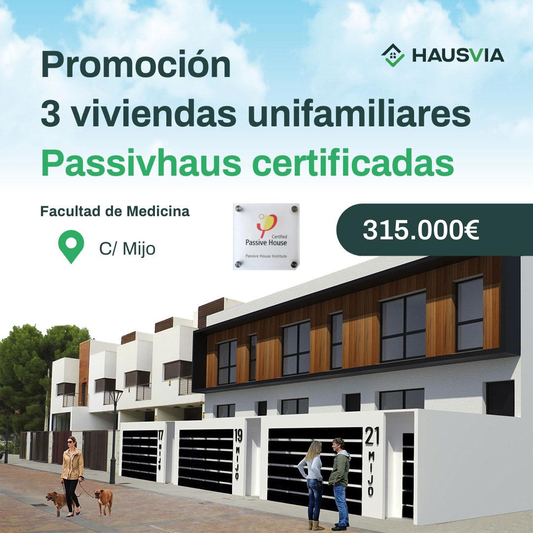 promoción passivhaus en Albacete